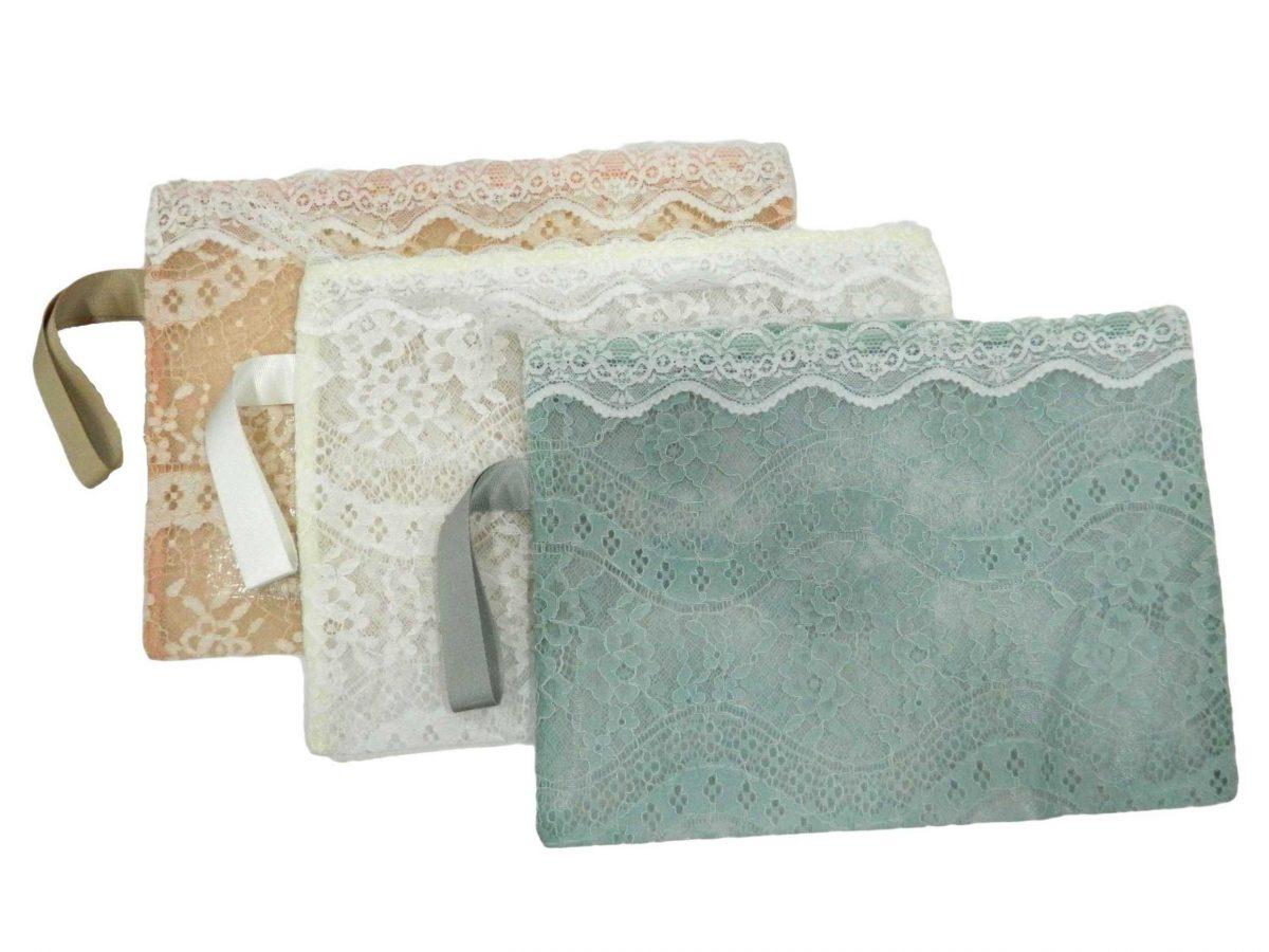 Lace Pattern Transparent File Cover