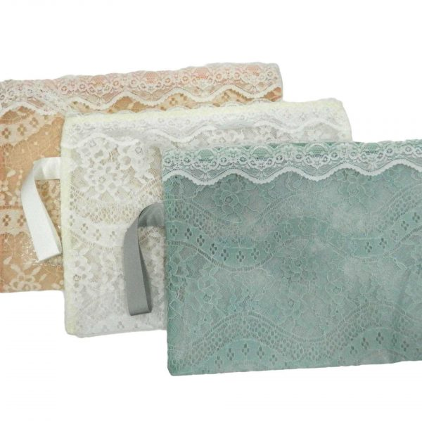 Lace Pattern Transparent File Cover