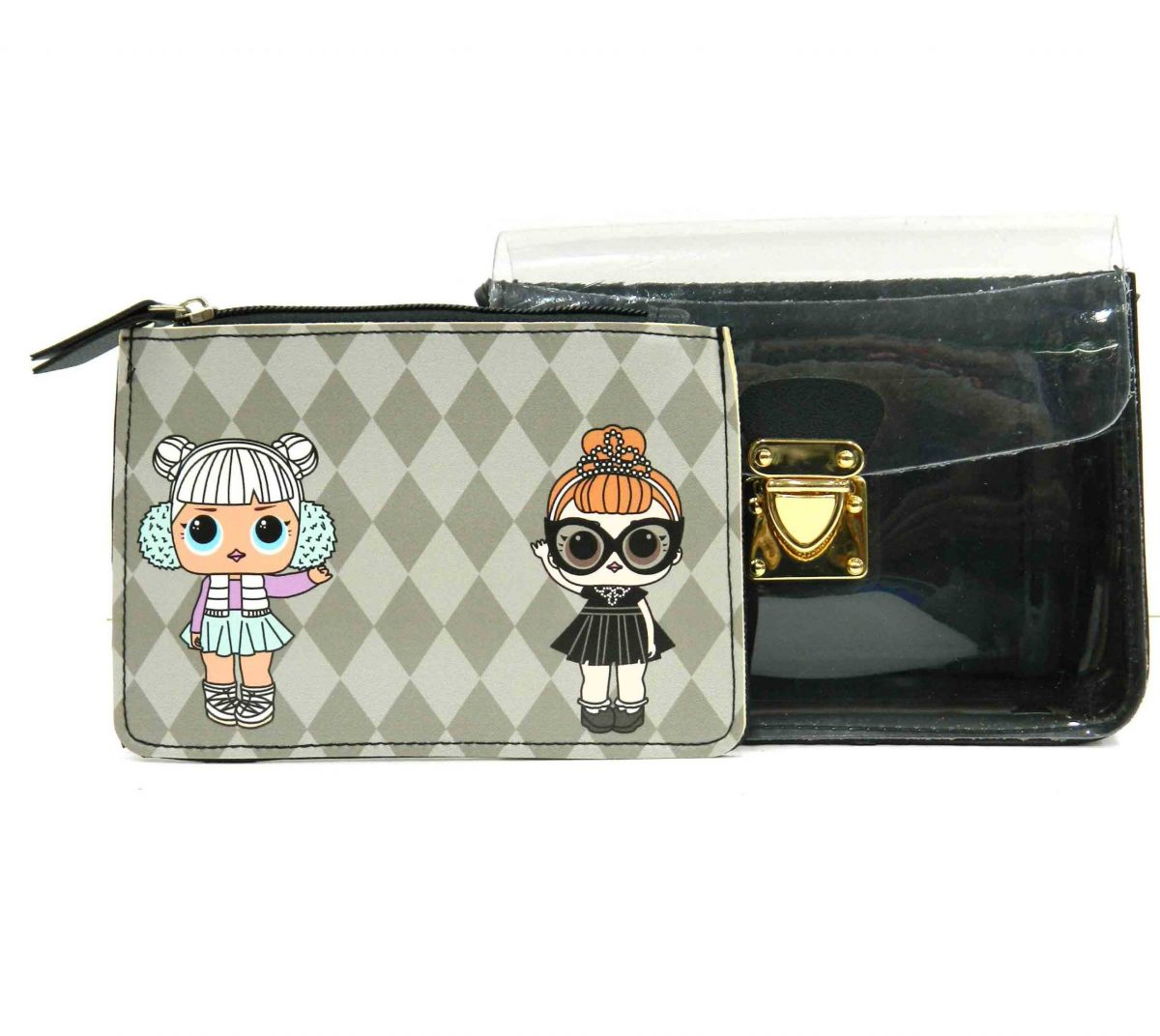 Transparent 2 Piece Baby Bag with Sling