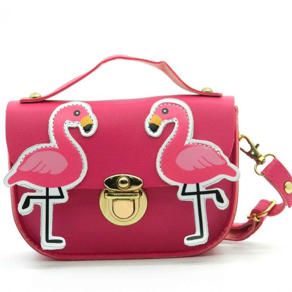 Flamingo Design Children's Shoulder Baby Bag