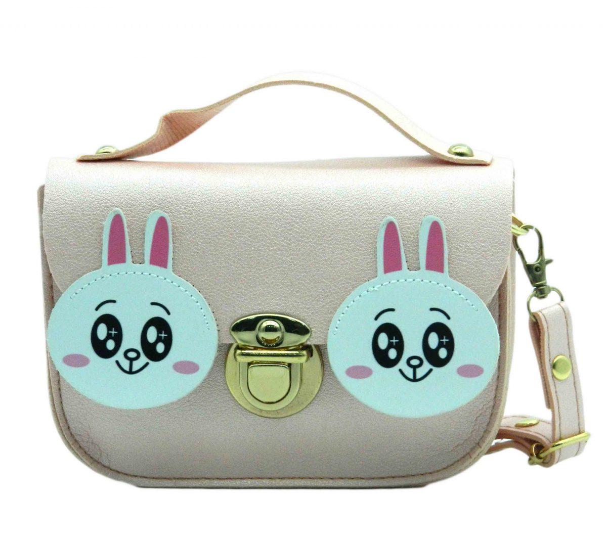 Rabbit Character Girl Children's Shoulder Baby Bag