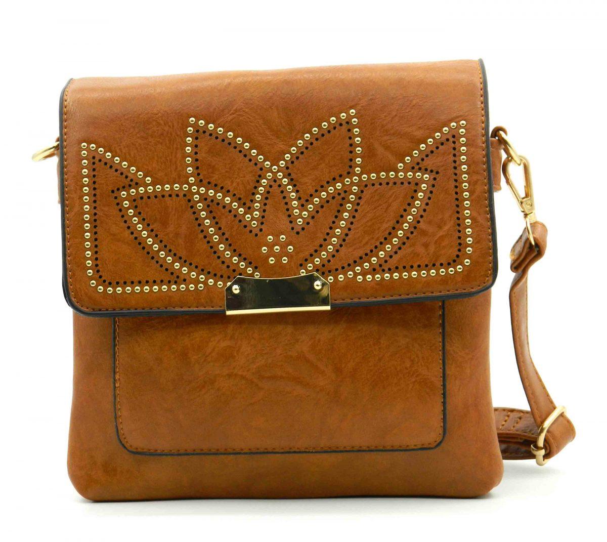 Fashionable Flap Pattern Crossbody Messenger Mini Bag